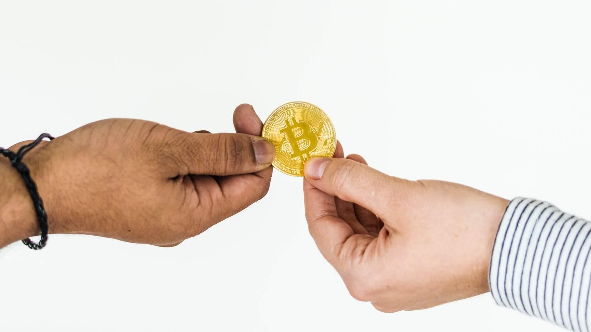 Transacción internacional de criptomonedas